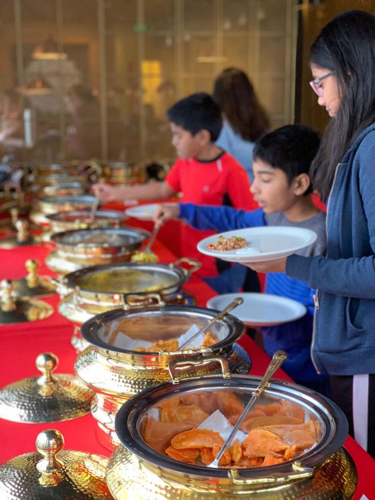 Saffron Bistro - lunch buffet (Saffron Valley)
