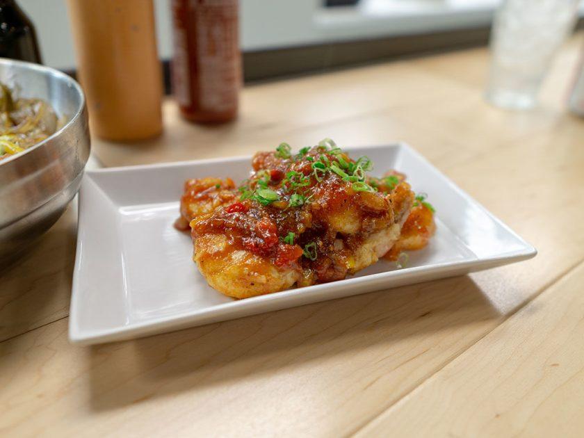 The Angry Korean - fried shrimp