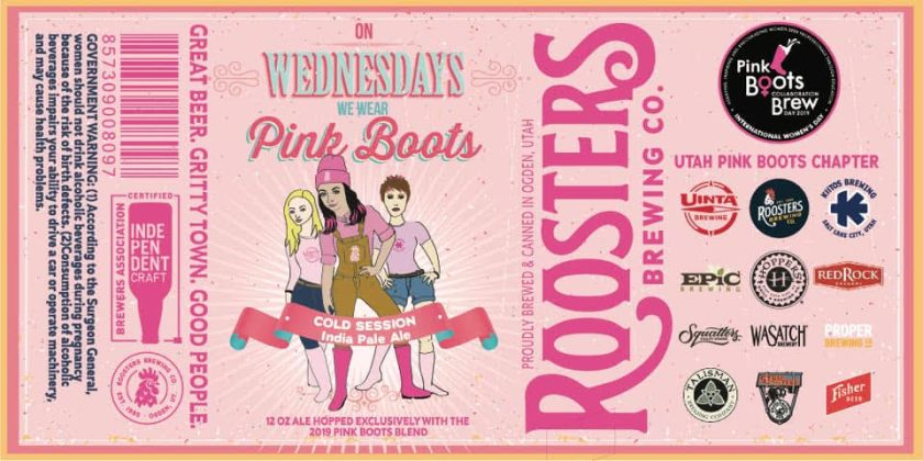 Pink Boot Brew 2019