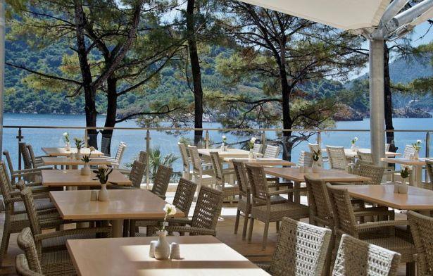 Restaurant-Terrasse