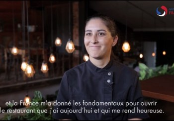 L'ambassadrice et marraine de Gastronomie France