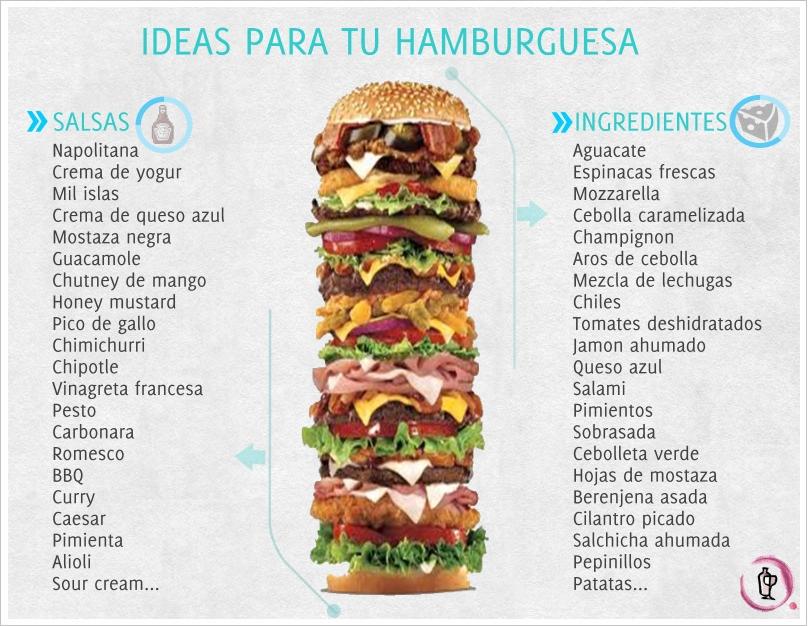 Más Ideas para tu hamburguesa