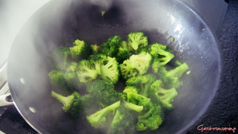 Ternera con brocoli