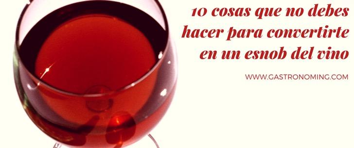 snob vino