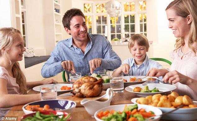 familia cena