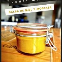 Honey mustard, salsa de miel y mostaza