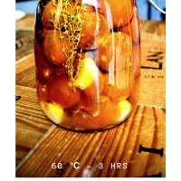 Tomates confitados (sous vide)