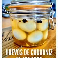 Huevos de codorniz en vinagre