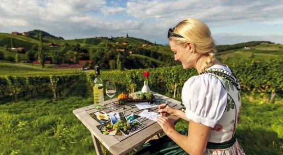 Die Steiermark im Sommer