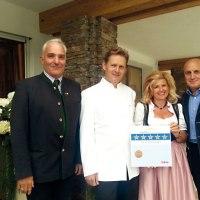 Fünf Sterne Superior für den Kaiserhof in Ellmau
