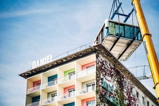 Loft Cube Dach,  Werner Asslinger, Daniel Graz, Designhotel