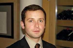 Lars Kirchbach, Restaurantleiter im Travel Charme Ifen Hotel im Kleinwalsertal