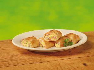 Ministrudel für jede Mahlzeit Frisch & Frost Ei Schinken Strudel