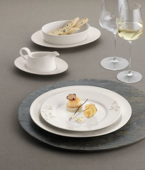 Edles Porzellan Geschirr Gastronomie Bauscher Purity Colors Finest Loom Blooming Shades