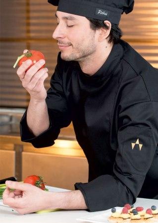 Kochbekleidung online kaufen Robini Black basic