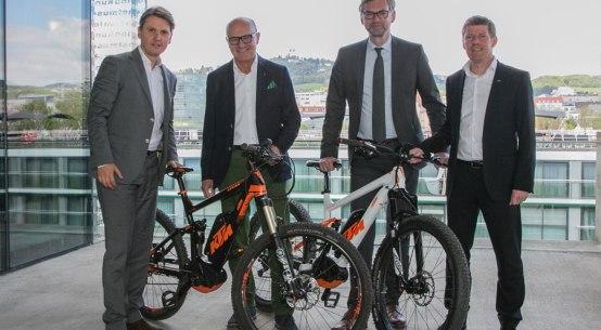 Oberösterreich als E-Bike-Destination