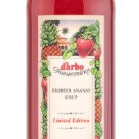Darbo Sommersirupe mit neuer Sorte Erdbeer-Ananas