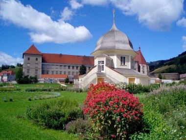 WEB_Stift_StLambrecht_Kloster_Gartenpavillon_GartenFC_Kloesterreich_Stift_StLambrecht