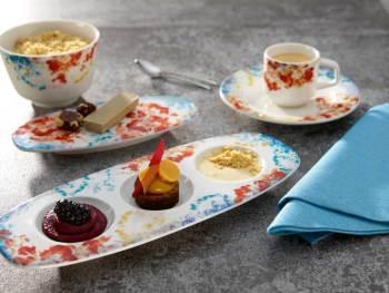 Farbenfrohes Geschirr für die Gastronomie Genesis by Affinity