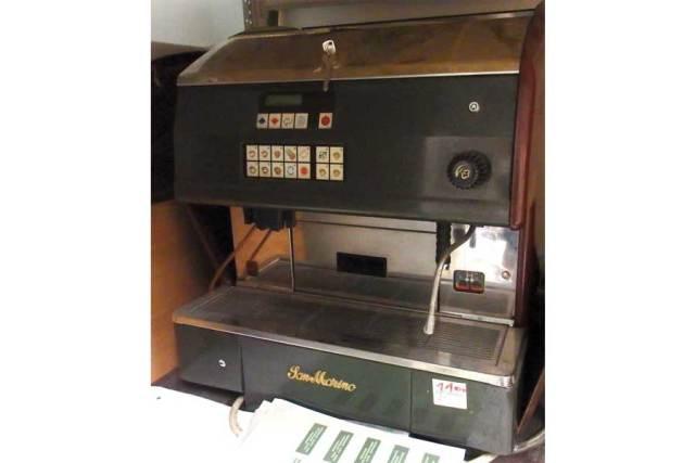 Vollautomatik-Kaffeemaschine Sanremo