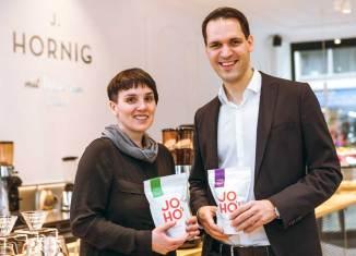 Direkt gehandelter Kaffee in neuer J. Hornig Kaffeebar