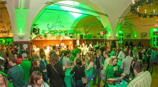 St. Patrick's Day feiern in Salzburg