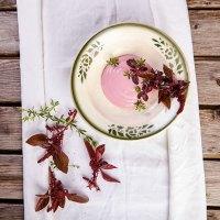 Gartenküche: Rezept für roten Cremespinat
