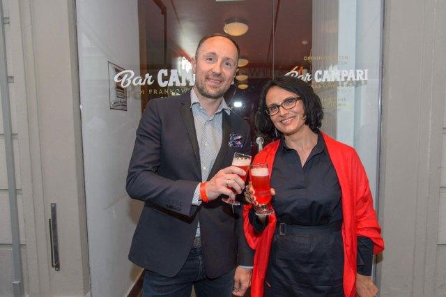Aperitivo-Kultur in Graz Bar Campari im Frankowitsch
