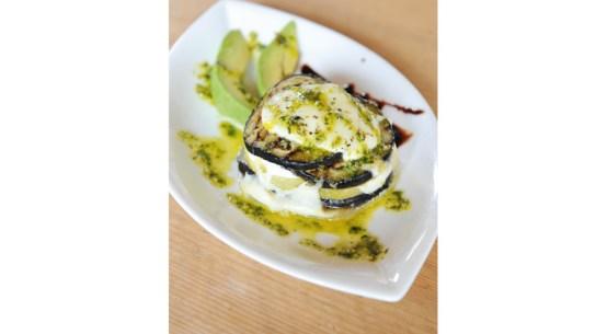 Rezept für Auberginen-Mozzarella-Türmchen