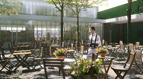 Strandcafé Alte Donau eröffnet im Frühjahr