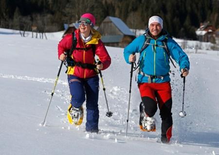 Großer Erfolg für erstes Schneeschuh-Festival