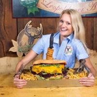 Leopoldauer Alm: Rekordverdächtiger Riesen-Burger