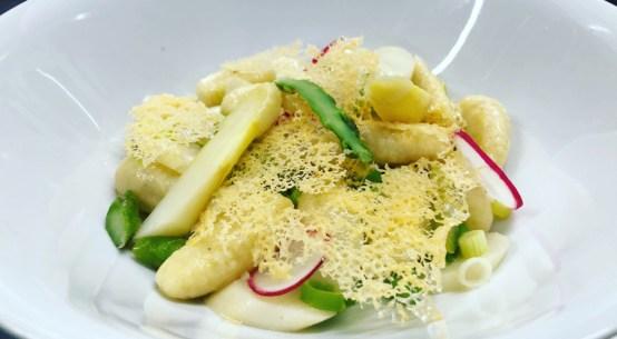 Rezept für Gnocchi mit Spargel Wiener Stadtbräu