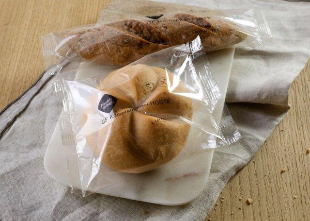 glutenfreie Produkte : Glutenfreies Gebäck, kontaminationssicher einzeln in Backfolie eingeschweißt, lässt in Sachen Geschmack keine Wünsche offen.