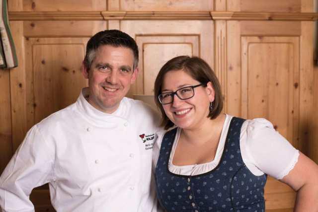 Martin und Dagmar Schotte, Geschäftsführerin und Küchenchef Gastwirtschaft & Hotel Holzinger in Möllersdorf/NÖ