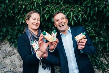 Innovatives Fruchtsaftkonzept Öko-Pioniere Tina Giczy und Bernd Gager.