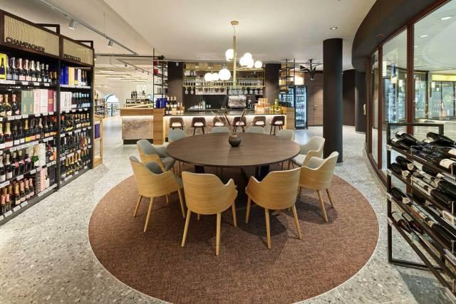 Billa startet Gastronomie Die neue BILLA Weinbar will zu Entspannung und exklusivem Genuss einladen.