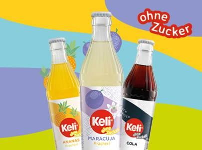 """Neu: Zuckerfreie Sorten Ananas, Maracuja, Cola und als """"Limited Edition"""" Kriecherl"""