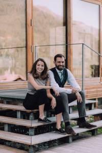 Great Place to Work Die Gastgeber im Naturhotel Chesa Valisa: Magdalena und David Kessler.