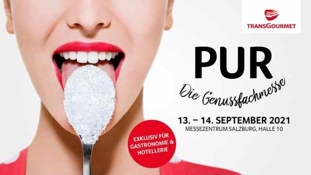 Genussfachmesse Transgourmet PUR am 13. und 14. September 2021 in Salzburg
