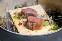 Die Alpine Küche zeigt von Fleisch bis süß, was der Alpenraum alles hervorbringt.