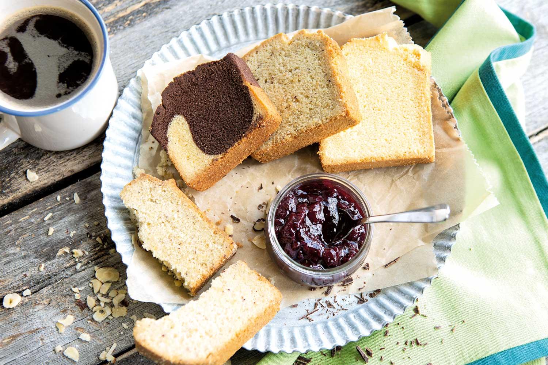 Backwaren ohne Gluten
