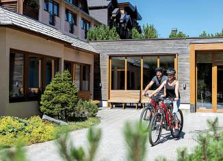 Direkt vom Basislager des Hotels Hochschober wird in die Berge gestartet. Foto: Hotel Hochschober