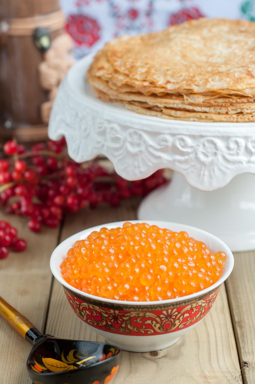 Russian Kefir Crepes