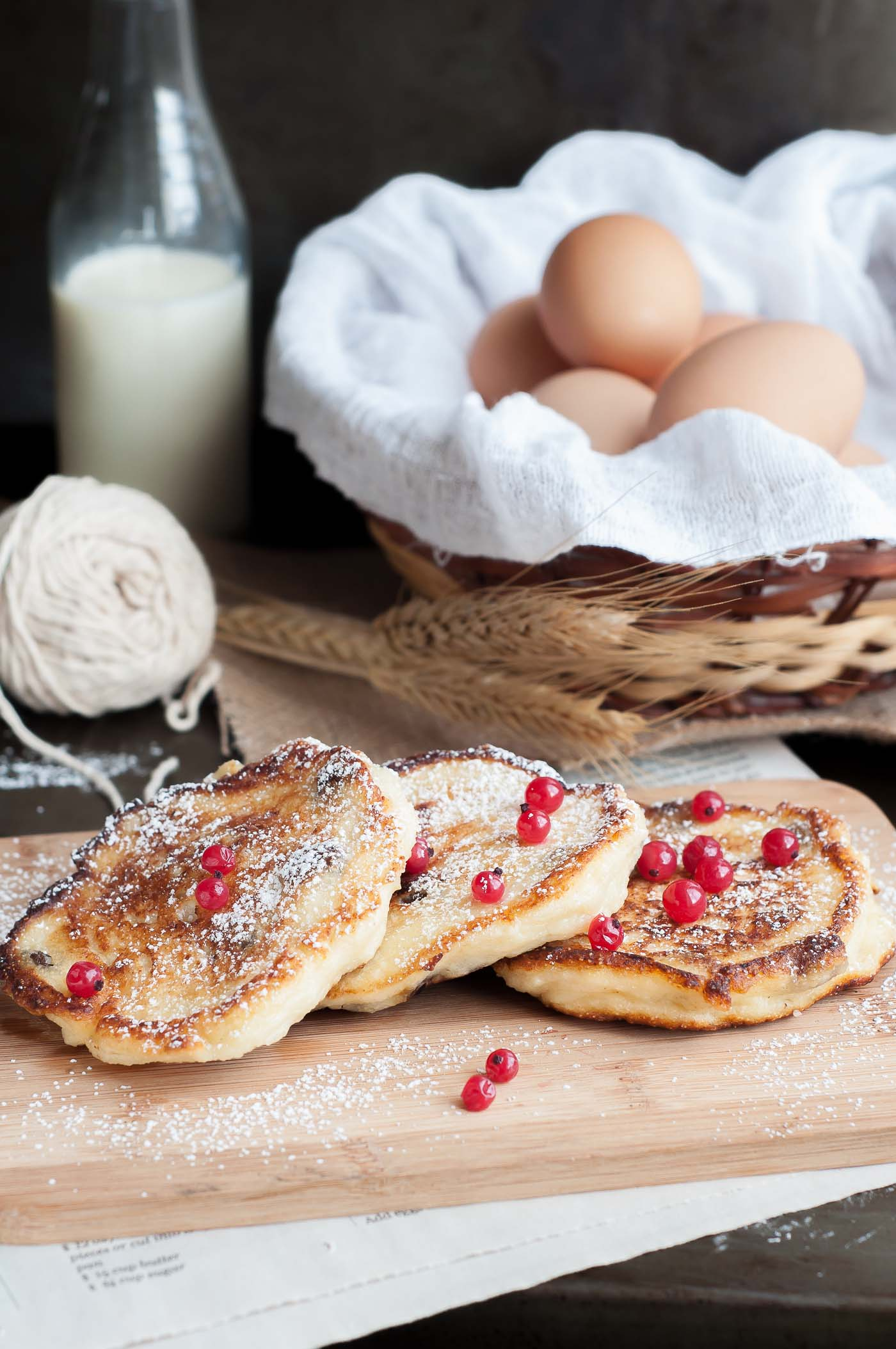 Farmers Cheese Pancakes – Syrniki