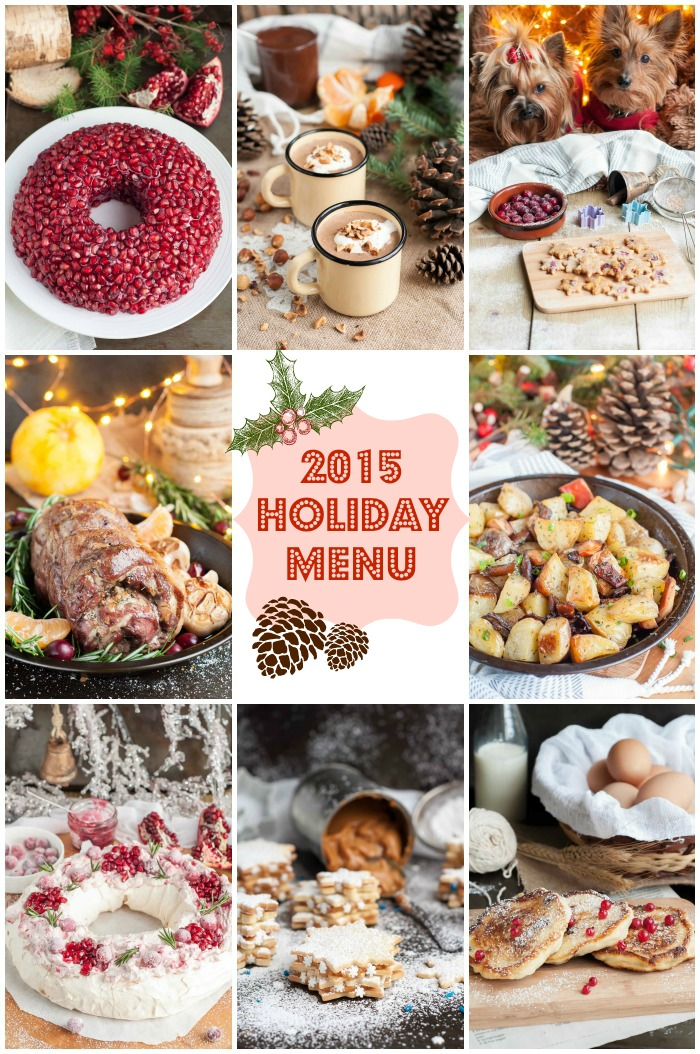 2015 Holiday Menu