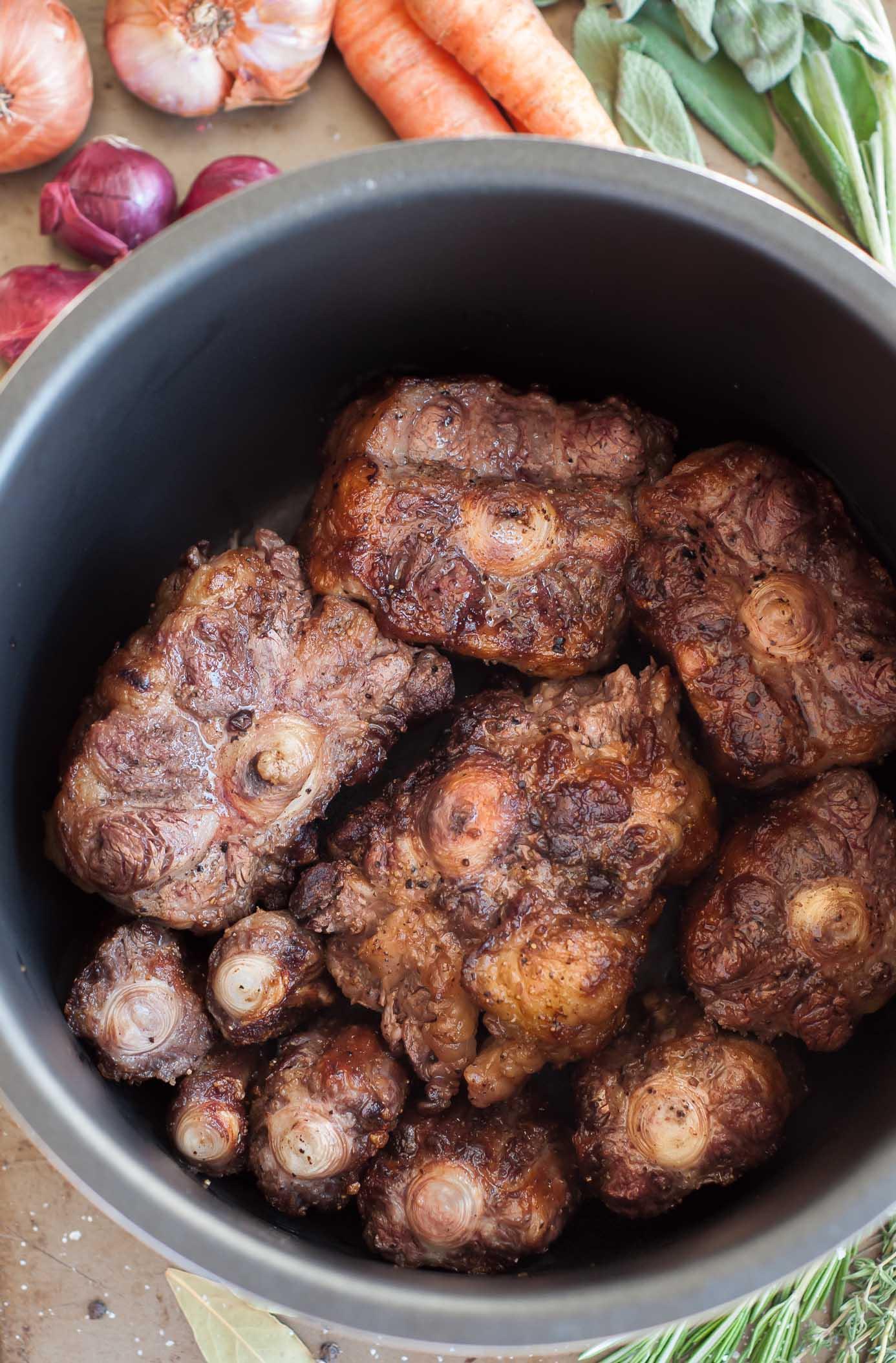 Pressure Cooker Oxtail Stew Gastrosenses