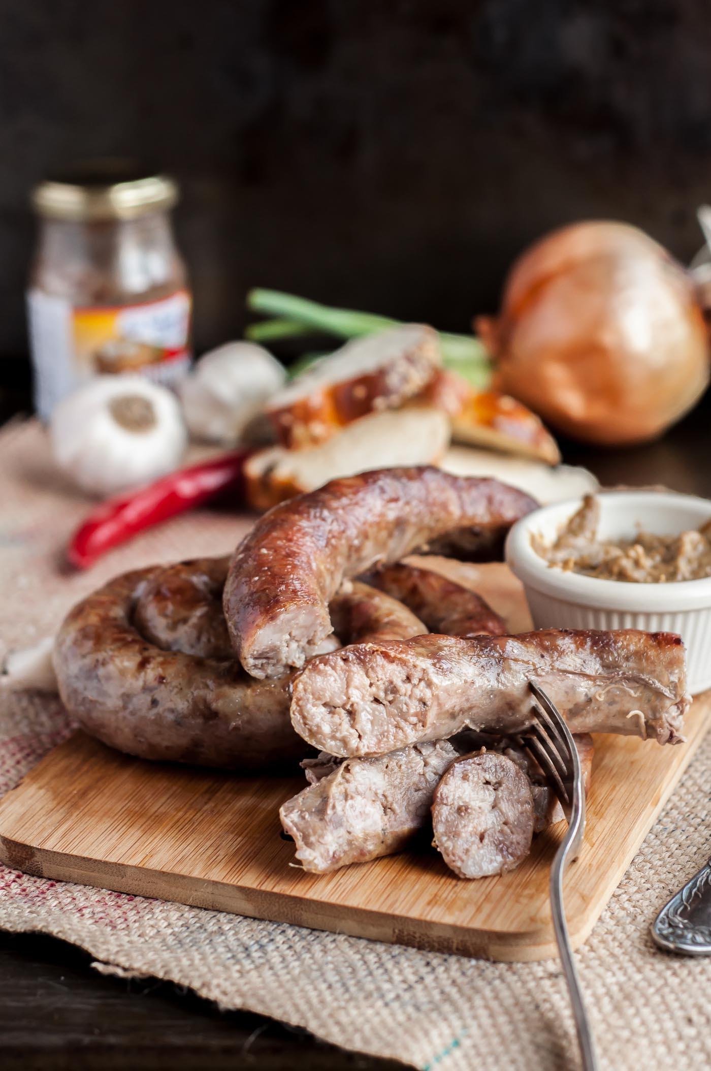 Ukrainian Pork Kielbasa