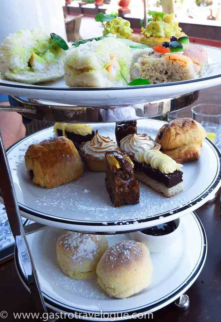 HIGH TEA ON THE STANLEY TERRACE VICTORIA FALLS HOTEL