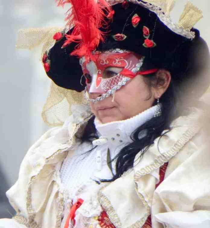 Venice Carnival costume.